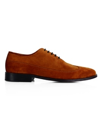 Tan Premium Wingtip Oxford main shoe image
