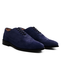 Dark Blue Premium Wingtip Oxford alternate shoe image