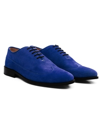 Navy Premium Wingtip Oxford alternate shoe image