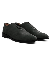 Gray Premium Wingtip Oxford alternate shoe image