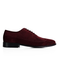 Burgundy Premium Wingtip Oxford main shoe image