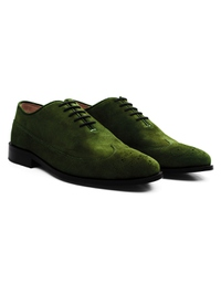 Dark Green Premium Wingtip Oxford alternate shoe image