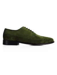 Dark Green Premium Wingtip Oxford main shoe image