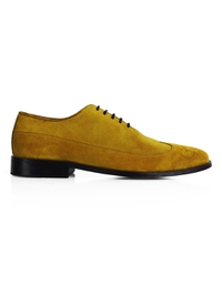 Mustard Premium Wingtip Oxford main shoe image