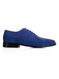 Navy Premium Wingtip Oxford main shoe image