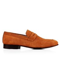 Beige Premium Apron Halfstrap Slipon main shoe image