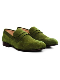 Dark Green Premium Apron Halfstrap Slipon alternate shoe image