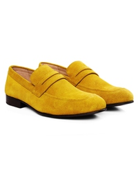 Mustard Premium Apron Halfstrap Slipon alternate shoe image