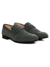 Gray Premium Apron Halfstrap Slipon alternate shoe image