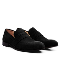 Black Premium Wingcap Slipon alternate shoe image