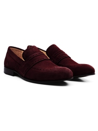 Burgundy Premium Wingcap Slipon alternate shoe image