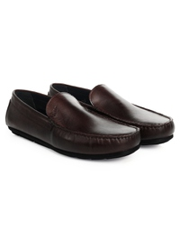 Brown Plain Apron Moccasins alternate shoe image
