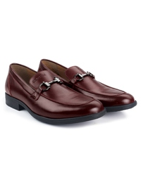 Burgundy Full Buckle Slipon alternate shoe image