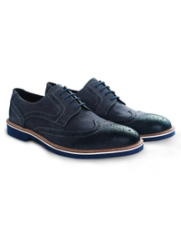 Dark Blue Outdoor Full Brogue alternate shoe image
