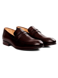 Dark Brown Premium Apron Halfstrap Slipon alternate shoe image