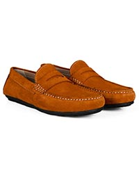 Tuscan Sun Penny Loafer Moccasins Leather Shoes alternate shoe image