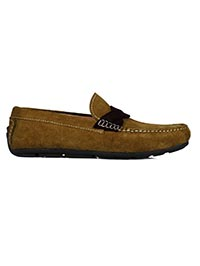 same color Cross Strap Moccasins shoe image