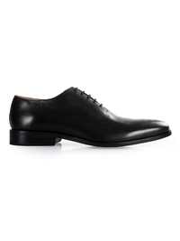 Black Premium Wholecut Oxford shoe image