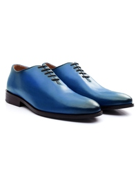 Dark Blue Premium Wholecut Oxford alternate shoe image