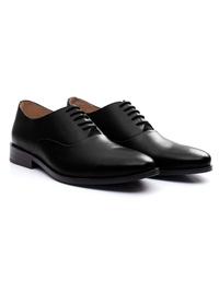 Black Premium Plain Oxford alternate shoe image