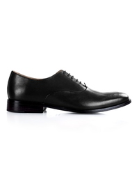 Black Premium Plain Oxford shoe image