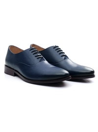 Dark Blue Premium Plain Oxford alternate shoe image