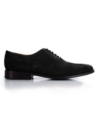 Black Premium Plain Oxford main shoe image
