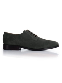 Gray Premium Plain Derby main shoe image