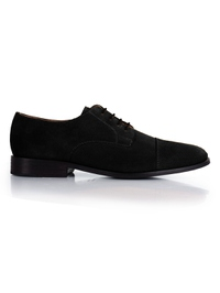 Black Premium Toecap Derby main shoe image