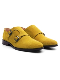Mustard Premium Double Strap Monk alternate shoe image