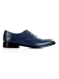 Dark Blue Premium Plain Oxford main shoe image
