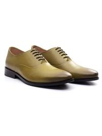 Beige Premium Plain Oxford alternate shoe image