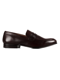 Brown Premium Apron Halfstrap Slipon main shoe image