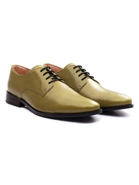 Beige Premium Plain Derby alternate shoe image